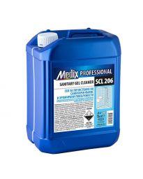Препарат за почистване на санитария и хром Medix Professional