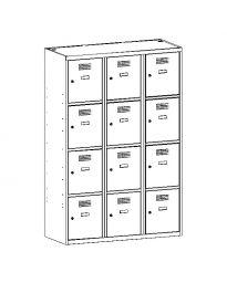 Метален гардероб Malow Wardrobe Locker SUS434W