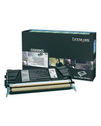 Тонер касетачерна LexmarkC5200KS