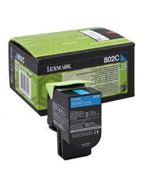 Тонер касетацветна Cyan Lexmark80C20C0