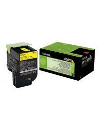 Тонер касетацветна Yellow Lexmark80C20Y0