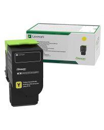 Тонер касетацветна Yellow LexmarkC242XY0