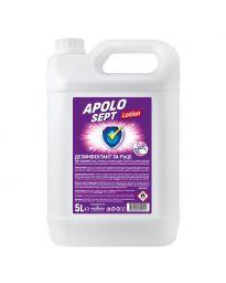 Дезинфектант за ръце Apolo Sept Lotion