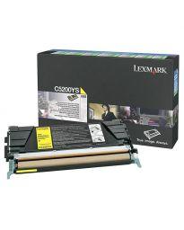Тонер касетацветна Yellow LexmarkC5200YS