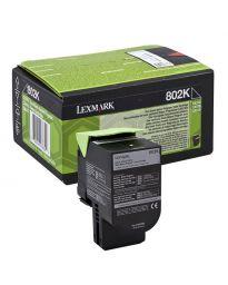 Тонер касетачерна Lexmark80C20K0