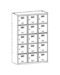 Метален гардероб Malow Wardrobe Locker SUS435W