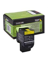 Тонер касетацветна Yellow Lexmark70C20Y0