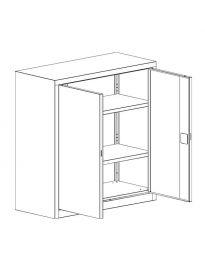 Метален шкаф Malow Office Locker SBM102